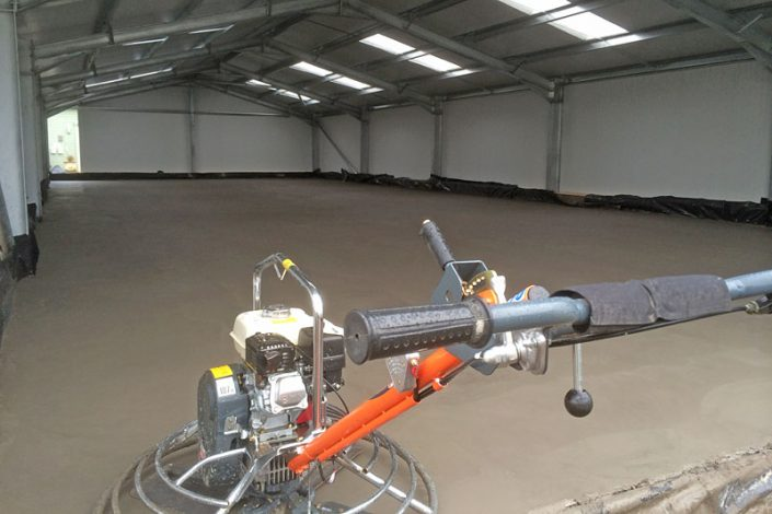 AB Gairns - New Concrete Flooring