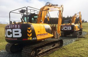 AB Gairns - Plant Hire