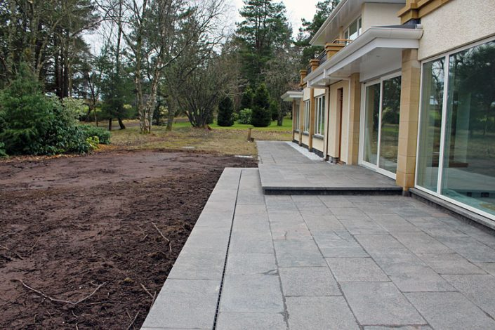 AB Gairns - Slabbing Work - Gleneagles